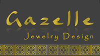Gazelle jewelry design